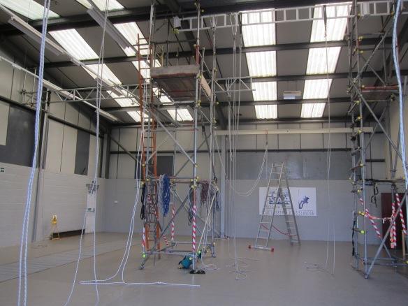 The training room at SAS in Consett.