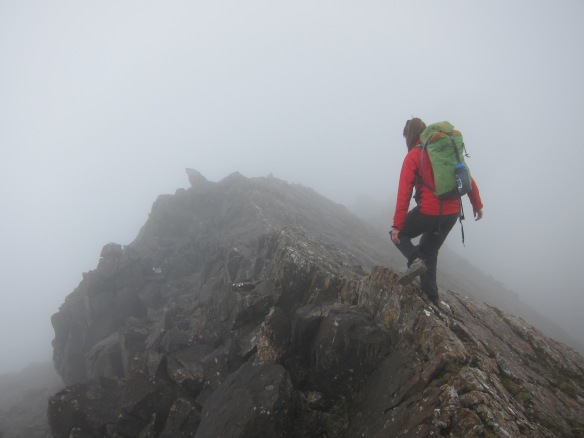 Heading off on the rather moist ridge on sunday at about 1pm