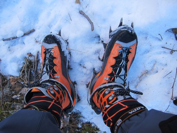 New shoes! I'm pretty happy with my new Scarpa Rebel Ultras!
