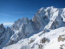 South Face of Mont blanc