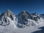 The Chardonnet and the Argentiere looking very superb