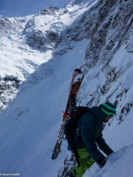 Me on the Bootpack up (Photo: Ross Hewitt)