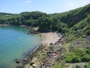 The Beach at the Cove. Good for a swim to cool off!