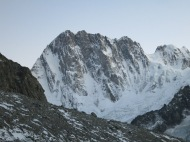 The Grandes Jorasses still looks amazing!