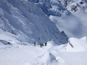 Heading into the cosmiques..