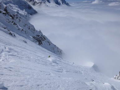 Spines.. Skied a bit but still soft and awesome.