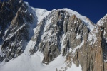 East face of Tacul Mixed Conditions (13/3/16)