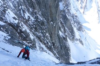 Mont Dolent Charlet Route