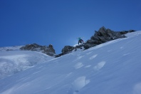 Mont Dolent ridge