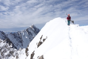 Colin Haley Summit of Mont Dolent